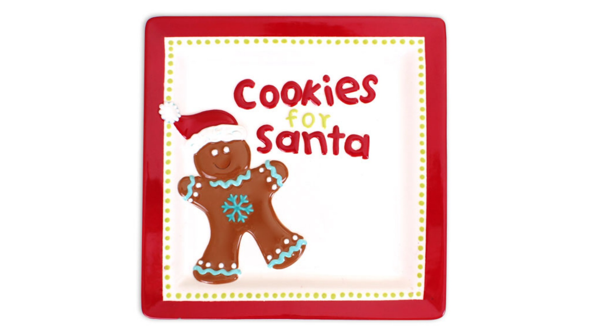 Cookies For Santa Plate Cookie Plate Painting Party 12 9 17