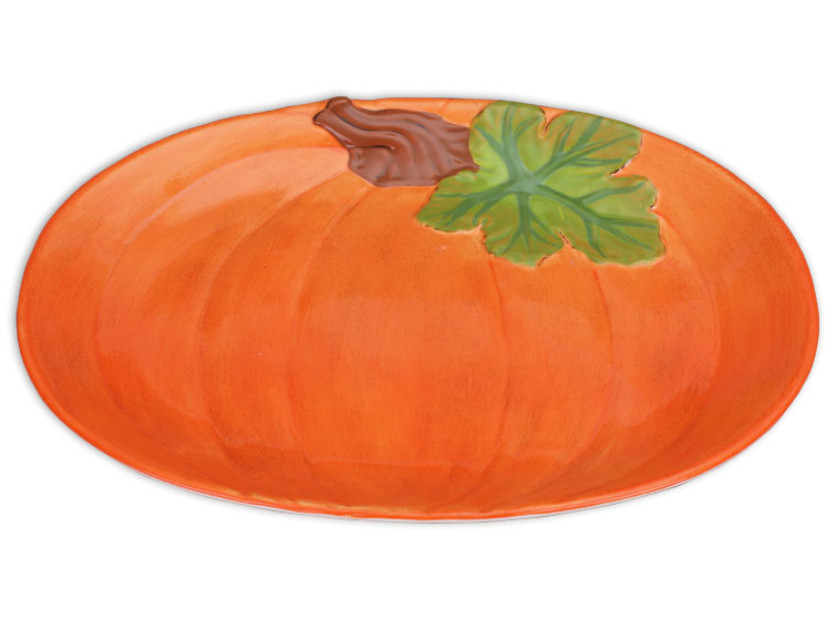 Pumpkin Platter Thanksgiving Turkey Platter Painting Party